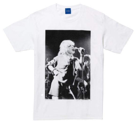 デボラ・ハリーのプリントTシャツ ¥6,380/Bonjour Records(ボンジュールレコード 03-5458-6020)