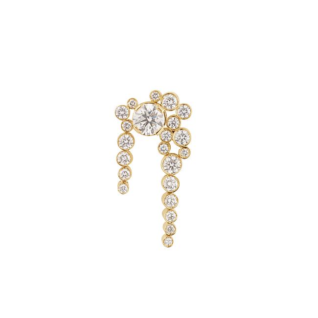 クラウド ニュイ ダイヤモンド ゴールドシングルピアス ¥1,970,457(税込)