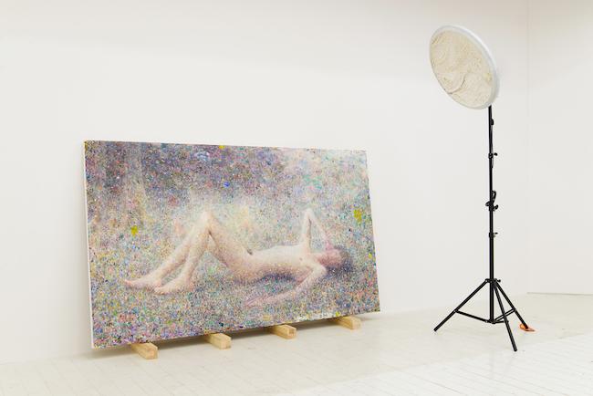 『フロレアル - 汚い光に混じった大きな花粉 -』(2012-2014) 愛知県美術館所蔵 Photo by Ichiro Mishima