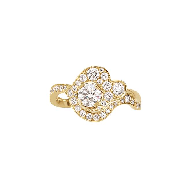 クラウド ロイヤル ダイヤモンド ゴールドリング ¥2,627,276(税込)