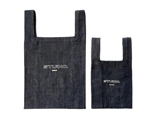 Denim Marche Bag