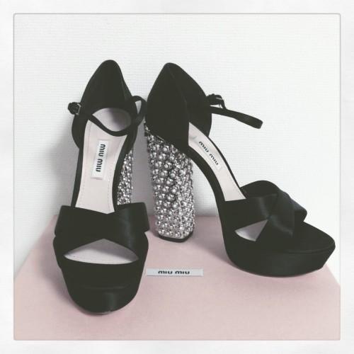 深キョンとお揃い♡MIUMIUの靴の画像