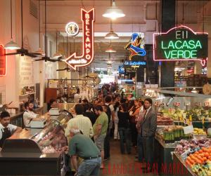 LAのダウンタウンにある多国籍横丁「Grand Central Market」の画像