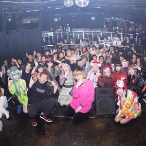#カワムラユキ presents UP&COMING 2017→2018 #渋谷glad ご来場に感謝です!来年も宜しくね!の画像