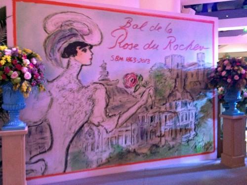 モナコ王室主催の薔薇の舞踏会の画像