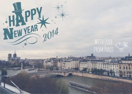 Bonne année! 謹賀新年の画像